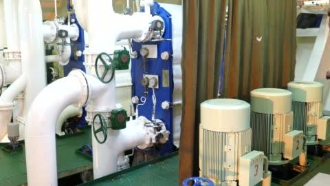 vídeos y material grabado en eventos de stock de sala de máquinas - motor eléctrico