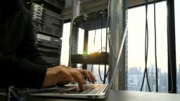 IT Engineer in Network Room