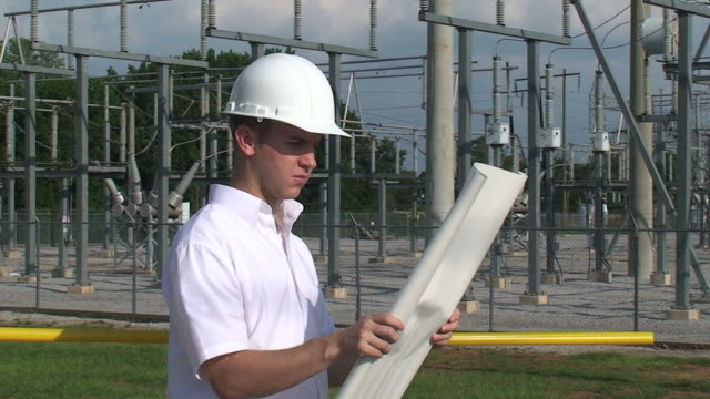 engineer or architect - electrical component stock videos and b-roll footage