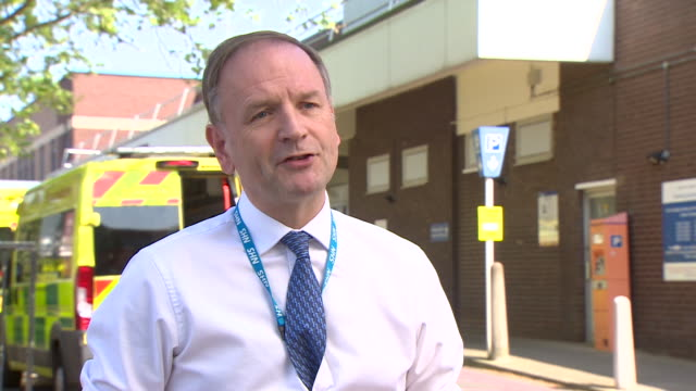 nhs england chief executive simon stevens saying that as we are now passing the peak of coronavirus admissions more routine nhs services may be... - moving past stock videos & royalty-free footage