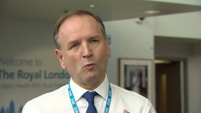 nhs england chief executive simon stevens saying there has been an uptake of interest in nursing as a career during the coronavirus crisis - curiosity stock videos & royalty-free footage