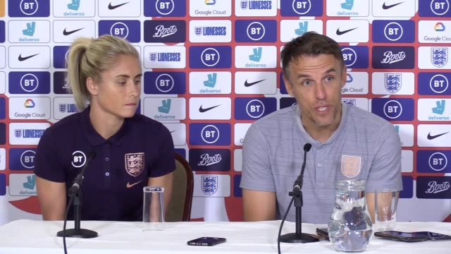 england coach phil neville has ordered his lionesses to shrug off the rising weight of expectation ahead of their sold-out clash with brazil at the... - sold out stock videos & royalty-free footage