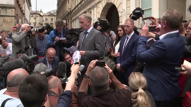 England cricketer Ben Stokes found not guilty of affray UK Bristol Bristol Crown Court Paul Lunt reading statement to press Ben Stokes and wife Clare...