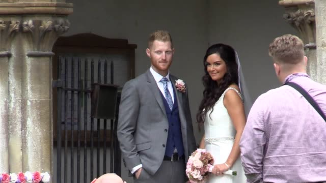 England cricketer Ben Stokes has married his fiancee Clare Ratcliffe The couple tied the knot at the church of St Mary the Virgin in East Brent near...