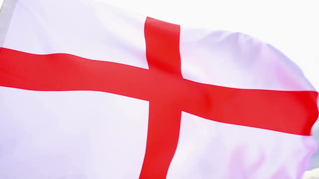 england flag high detail - british royalty stock videos & royalty-free footage