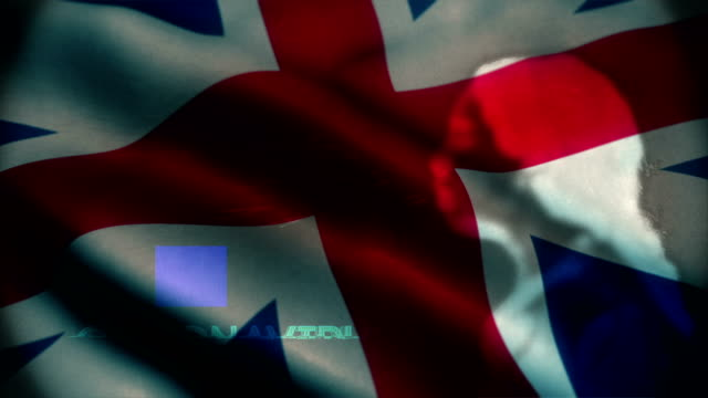 england flag with woman sneezing overlay. coronavirus background concept. - england stock videos & royalty-free footage