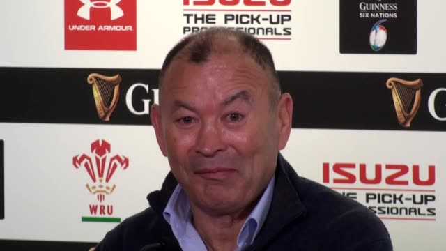 England head coach Eddie Jones and Captain Owen Farrell press conference after the defeat against Wales