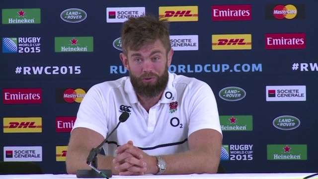 england lock geoff parling said on tuesday that his team feels an unbelievable hunger to win this years rugby world cup as england faces a crunch... - australian national team stock videos & royalty-free footage
