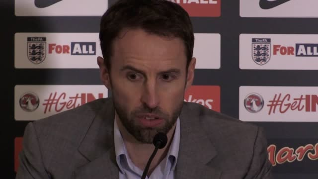 england manager gareth southgate announces his squad for next week's friendly in germany and 2018 world cup qualifier against lithuania - lithuania stock videos & royalty-free footage