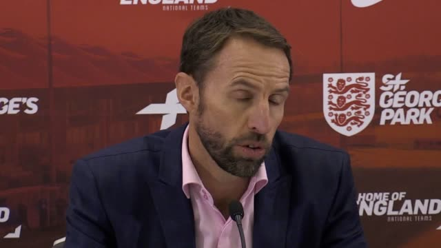 England manager Gareth Southgate holds a press conference after naming his first squad since the World Cup this summer