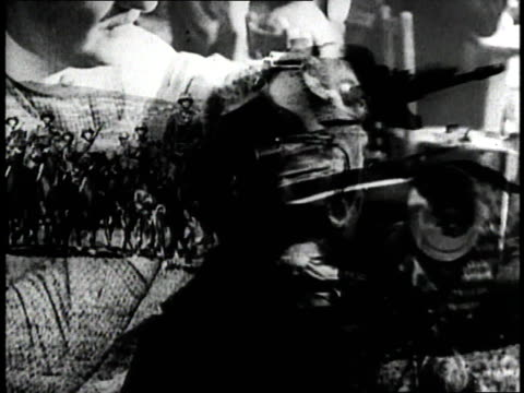 vídeos y material grabado en eventos de stock de england prepares for world war ii - 1930 1939