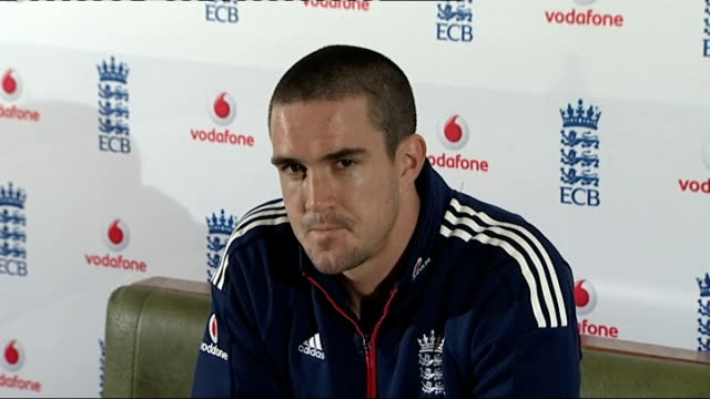 Kevin Pietersen Pietersen press conference SOT Tour of India will be test of his captaincy / Enjoys challenges like this / Twenty20 cricket is...