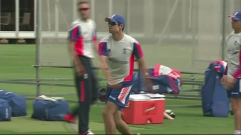 england train ahead of second ashes test match; england team practising fielding and throwing including joe root, ben stokes, james anderson, moeen... - fielder stock videos & royalty-free footage