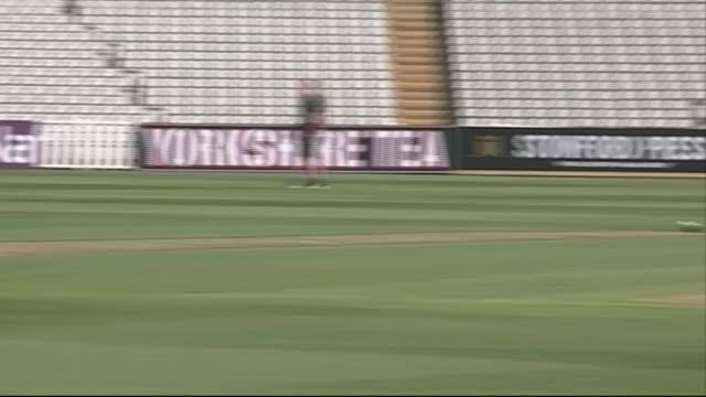 Midlands Birmingham Edgbaston Cricket Ground EXT General views of England cricket team training