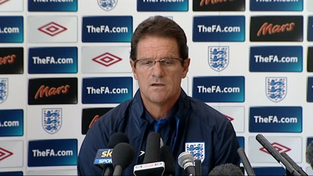 Fabio Capello press conference Capello press conference SOT Every experience is important for the manager and I learn a lot / I accept the decisions...