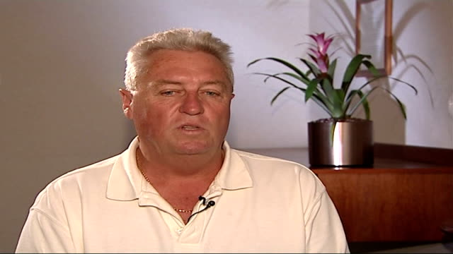 ball tampering row umpire stands by decision int bob woolmer interview sot the ball tampering charges are probably the sticking point and i am sure... - pakistan stock videos & royalty-free footage