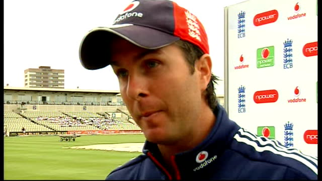 Vaughan interview ENGLAND Birmingham Edgbaston EXT Michael Vaughan interview SOT Talks of England team for 3rd test match against South Africa and...