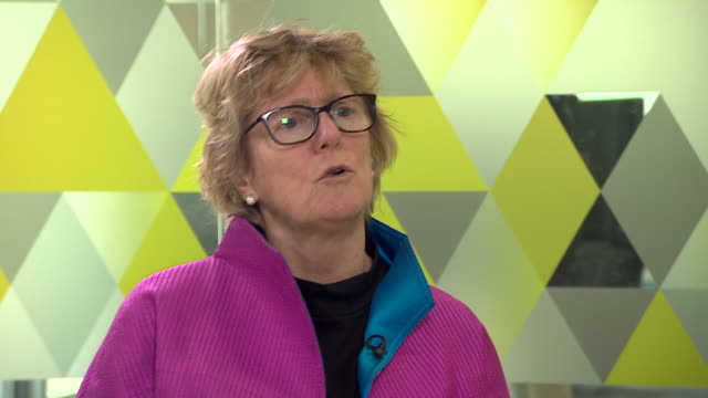 england's chief medical officer professor dame sally davies saying we should talk less about obesity and how we change our environments to live more... - unhealthy eating stock videos & royalty-free footage
