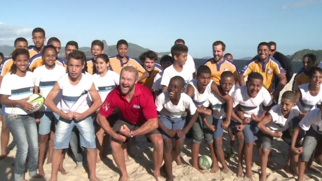 Englands former rugby sevens captain Ollie Philips is in Rio de Janeiro to promote a sport which will feature in the 2016 Summer Olympics CLEAN...
