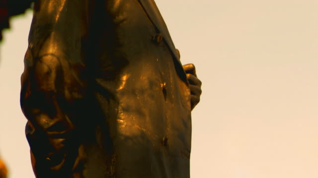 englandstatue of abraham lincoln - abraham lincoln stock videos & royalty-free footage