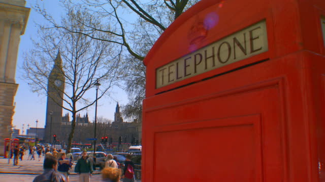 englandtelephone booth - telephone box stock videos & royalty-free footage
