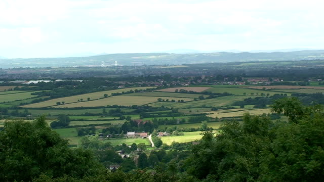 english countryside - somerset england stock videos & royalty-free footage