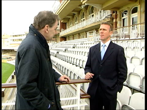 Concerns over Mugabe regime ENGLAND Alec Stewart interviewed SOT Is one game of cricket or series of games more valuable than someone's life or...