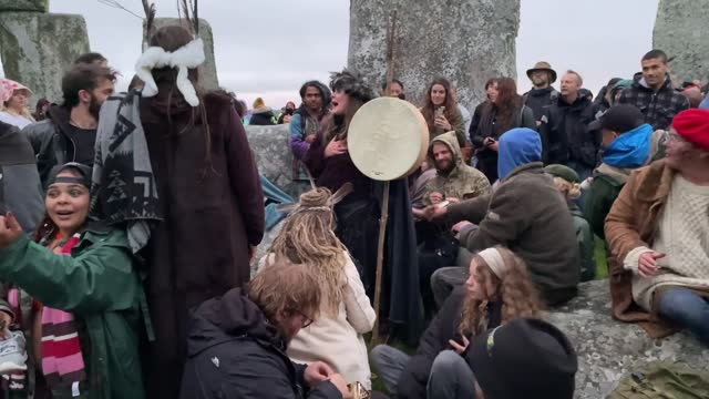 english heritage pulled a live feed of the summer solstice sunrise at stonehenge after people disregarded advice not to travel to the site. the... - solstice stock videos & royalty-free footage