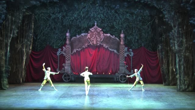 english national ballet dress rehearsal of the nutcracker at london coliseum on december 13 2010 in london england - london coliseum stock videos and b-roll footage