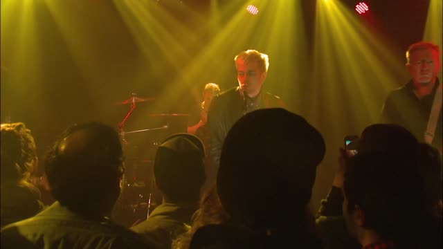 english punk rock legends gang of four joined forces with jbtv music television and put on a stellar performance of their song 'isle of dogs' - punk music stock videos & royalty-free footage