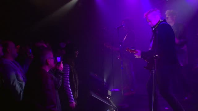 english punk rock legends gang of four joined forces with jbtv music television and put on a stellar performance of their song 'to hell with poverty' - punk music stock videos & royalty-free footage