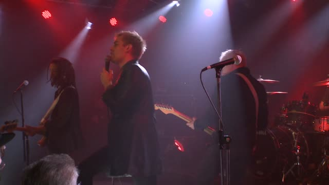 english punk rock legends gang of four joined forces with jbtv music television and put on a stellar performance of their song 'damaged goods' - punk music stock videos & royalty-free footage
