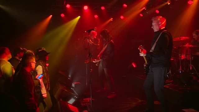 english punk rock legends gang of four joined forces with jbtv music television and put on a stellar performance of their song, 'stranded.' - punk music stock videos & royalty-free footage