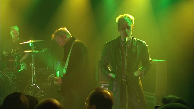 english punk rock legends gang of four joined forces with jbtv music television and put on a stellar performance of their song, 'nightingale.' - nightingale stock videos & royalty-free footage
