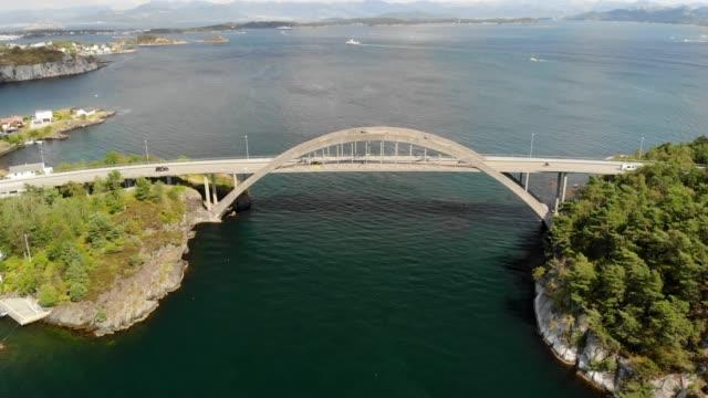 engøy island i stavanger, norge - valv arkitektoniskt drag bildbanksvideor och videomaterial från bakom kulisserna