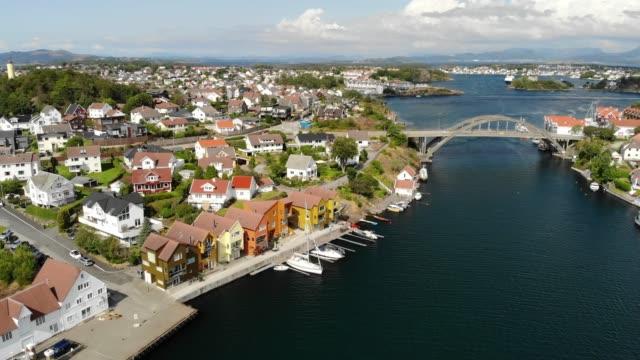 engøy island in stavanger, norway - town stock videos & royalty-free footage