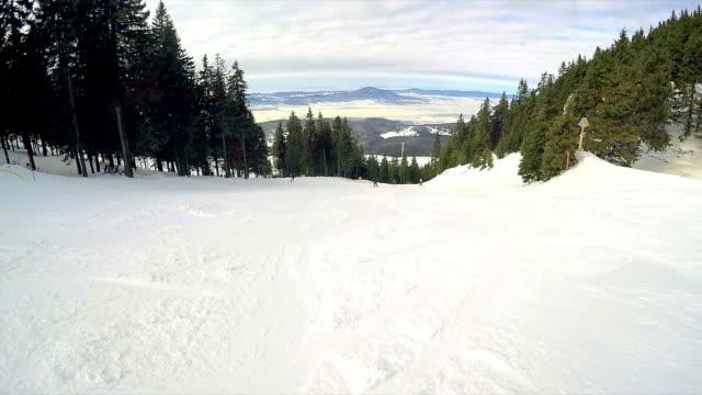 POV Enjoy skiing.