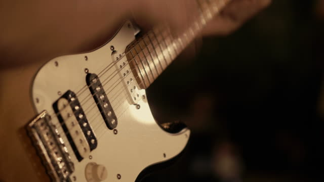enjoy the music - guitarist stock videos & royalty-free footage