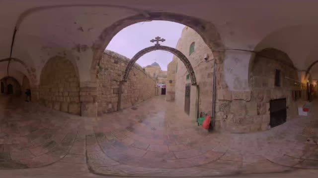 Enjoy the stunning view of Jerusalem Israel in 360 point of view