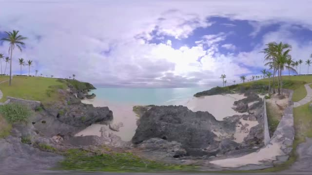 enjoy the stunning views of bermuda in 360 point of view. - 360 stock videos & royalty-free footage