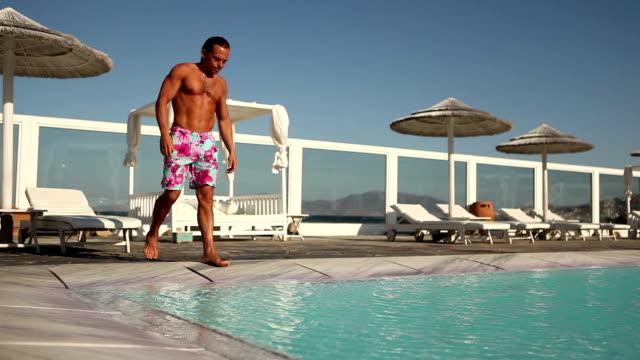 enjoy the summer - utebassäng bildbanksvideor och videomaterial från bakom kulisserna
