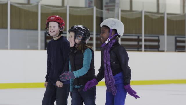 Genieten van een dag op de Ice Skating Rink