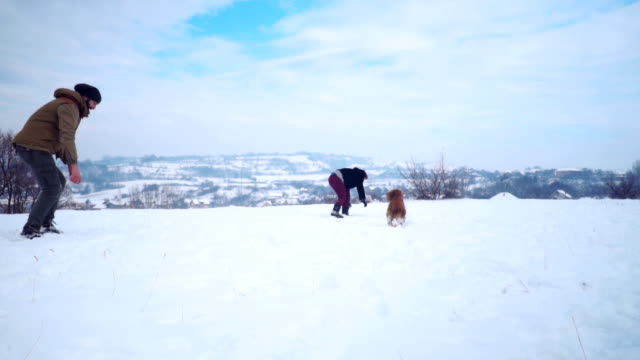 Enjoying a winter day