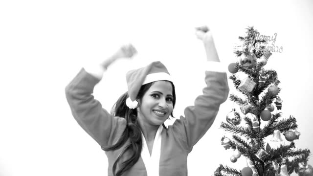 enjoying christmas festival - indian subcontinent ethnicity stock videos & royalty-free footage