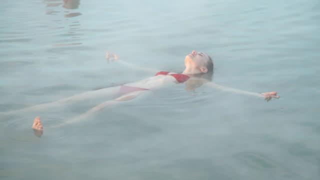 Genießen Sie den geothermischen spa-Therapie