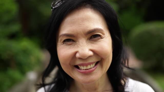 enjoying her senior days - mature women stock videos & royalty-free footage