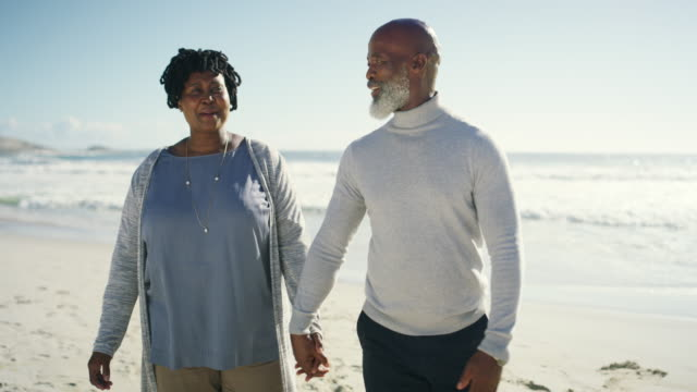 enjoying our retirement together - african ethnicity stock videos & royalty-free footage
