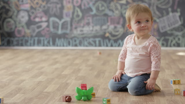 enjoying play time - preschool stock videos and b-roll footage