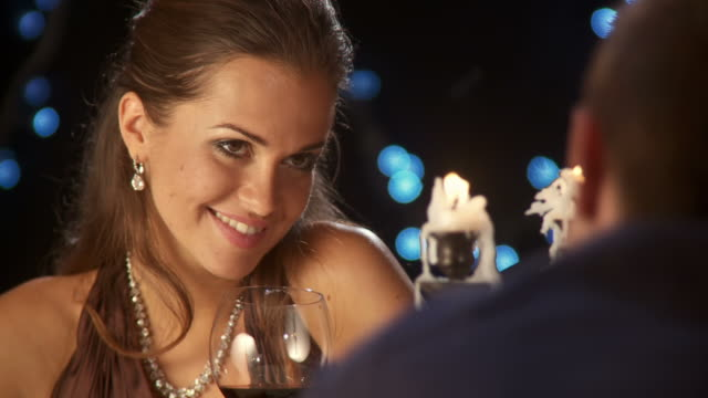 hd: enjoying romantic date - romance stock videos & royalty-free footage