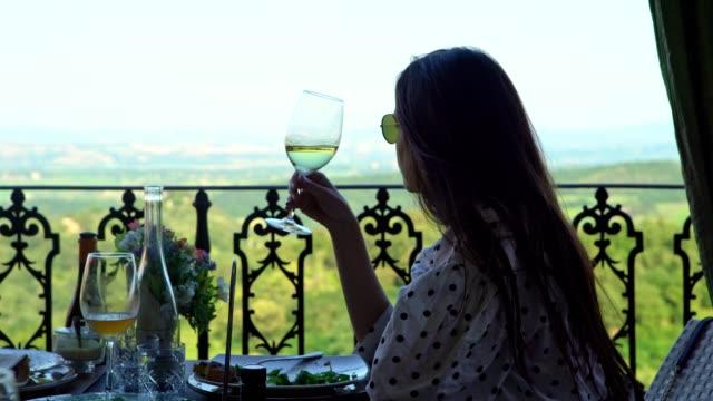njut av toscana med utsikt - toscana bildbanksvideor och videomaterial från bakom kulisserna